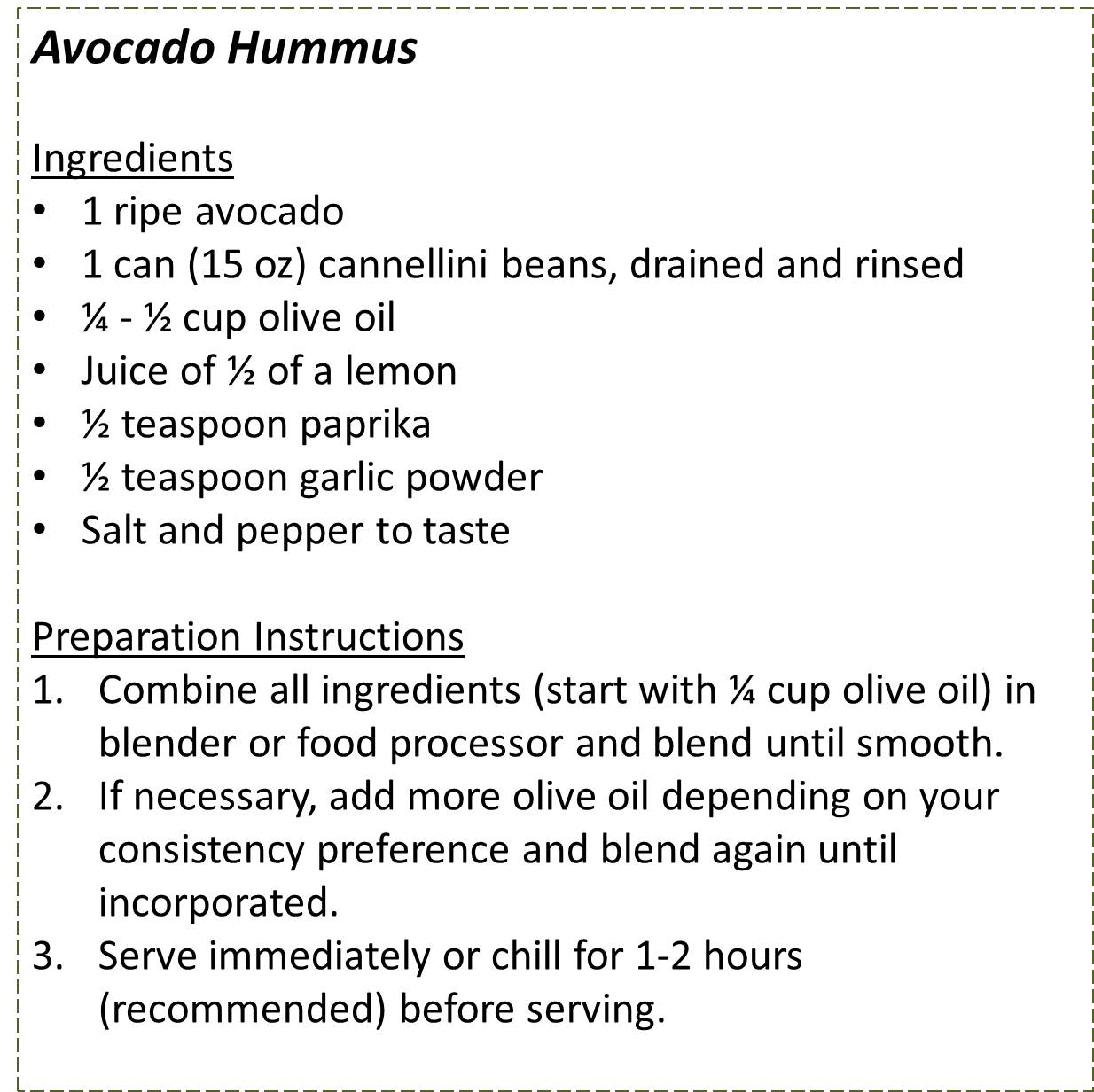 Avocado Hummus_recipe