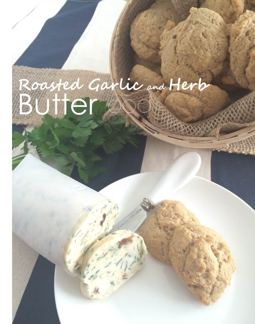 Roasted Garlic and Herb Butter_3P
