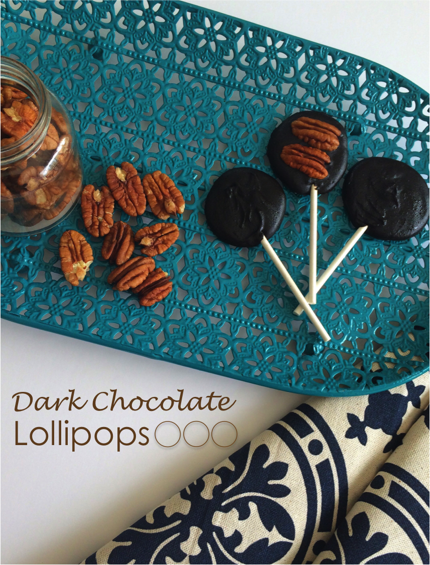 Dark Chocolate Lollipops 2